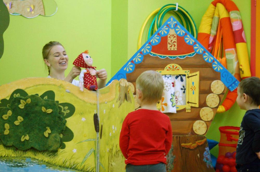 Как сделать кукольный театр в детском саду
